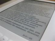 Un lettore eBook