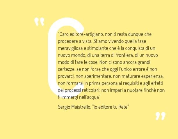 Sergio Maistrello – Io editore tu Rete