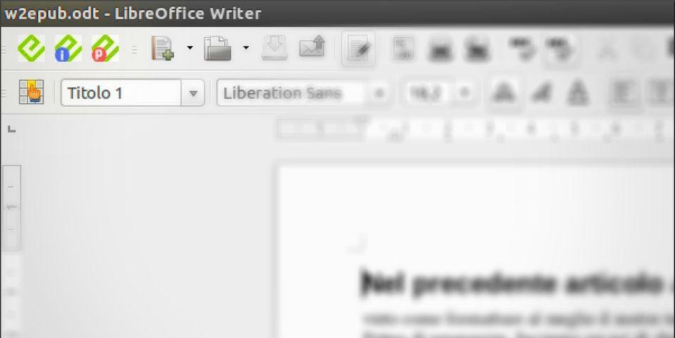 eBook a Km Zero – Writer2ePub